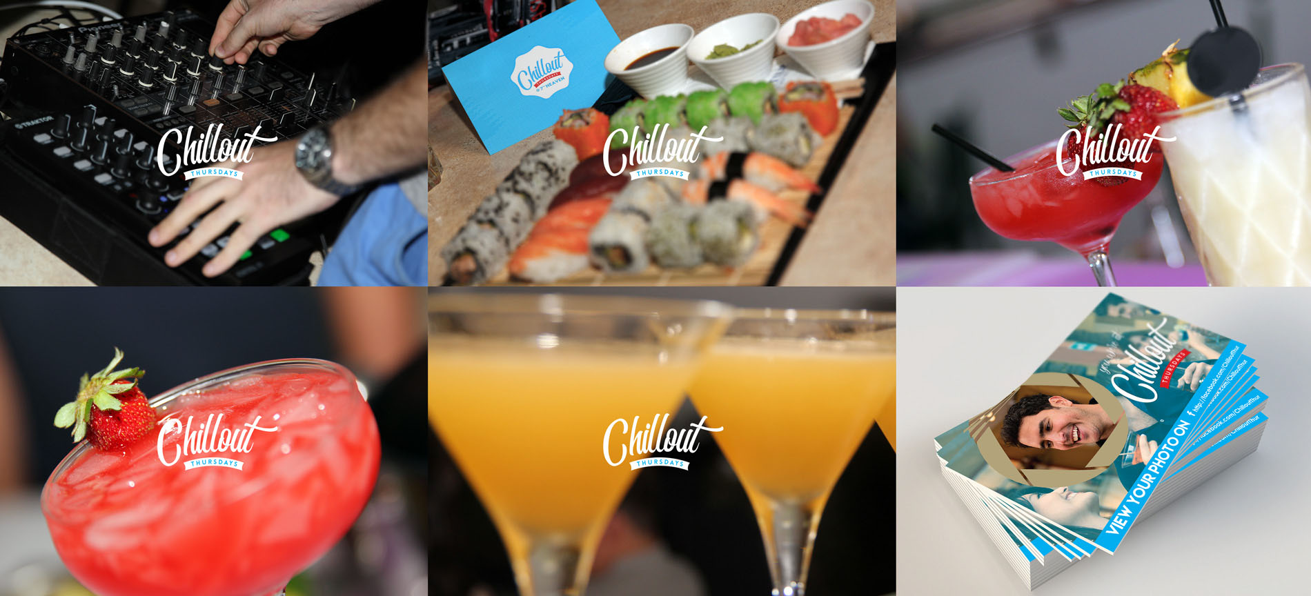 4Sight Create Branding & Digital Marketing Agency Malta - Project: Chillout Thursdays settimo cielo images
