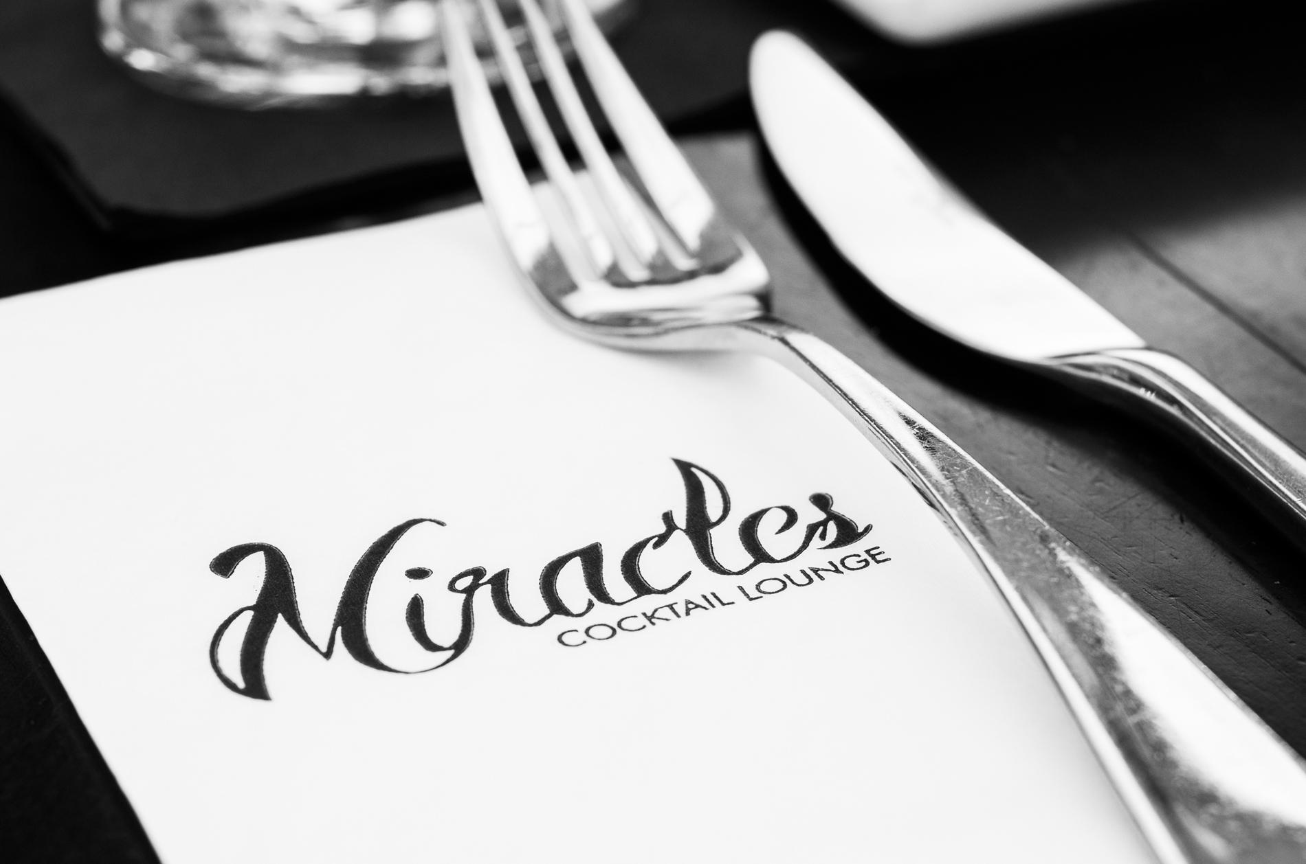 Miracles napkin logo