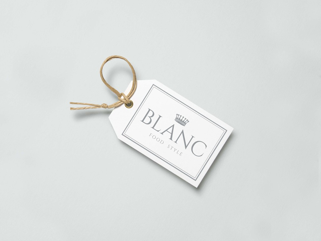Blanc branding material