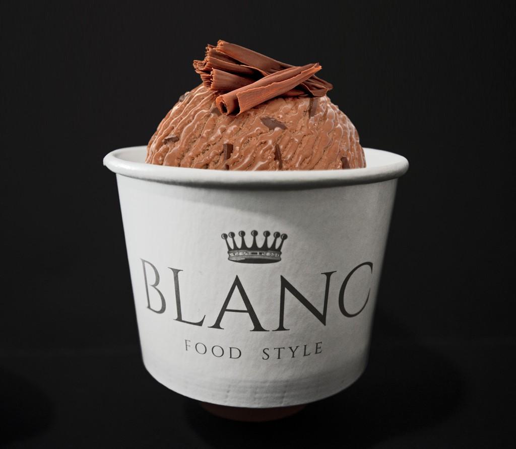 Blanc ice cream
