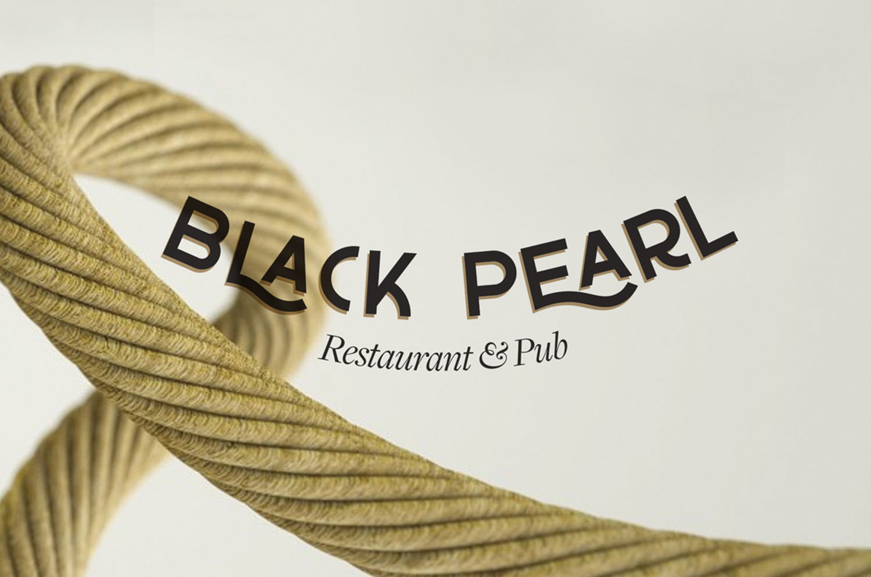 Black Peal restaurant pub logo
