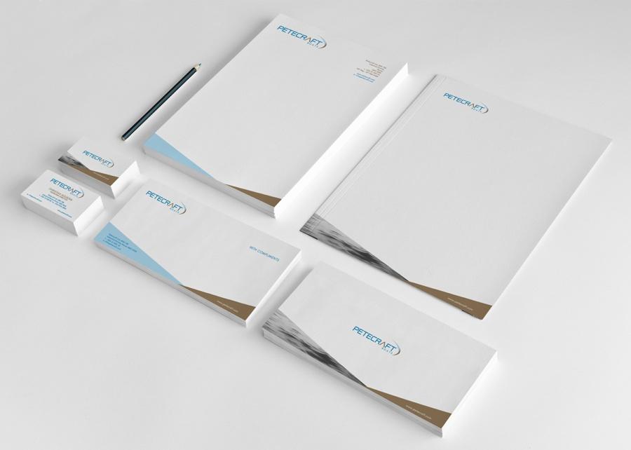 Petecraft branding material