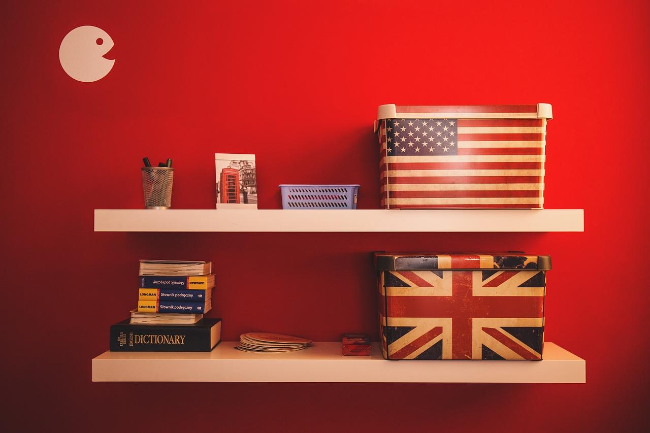 English american languages