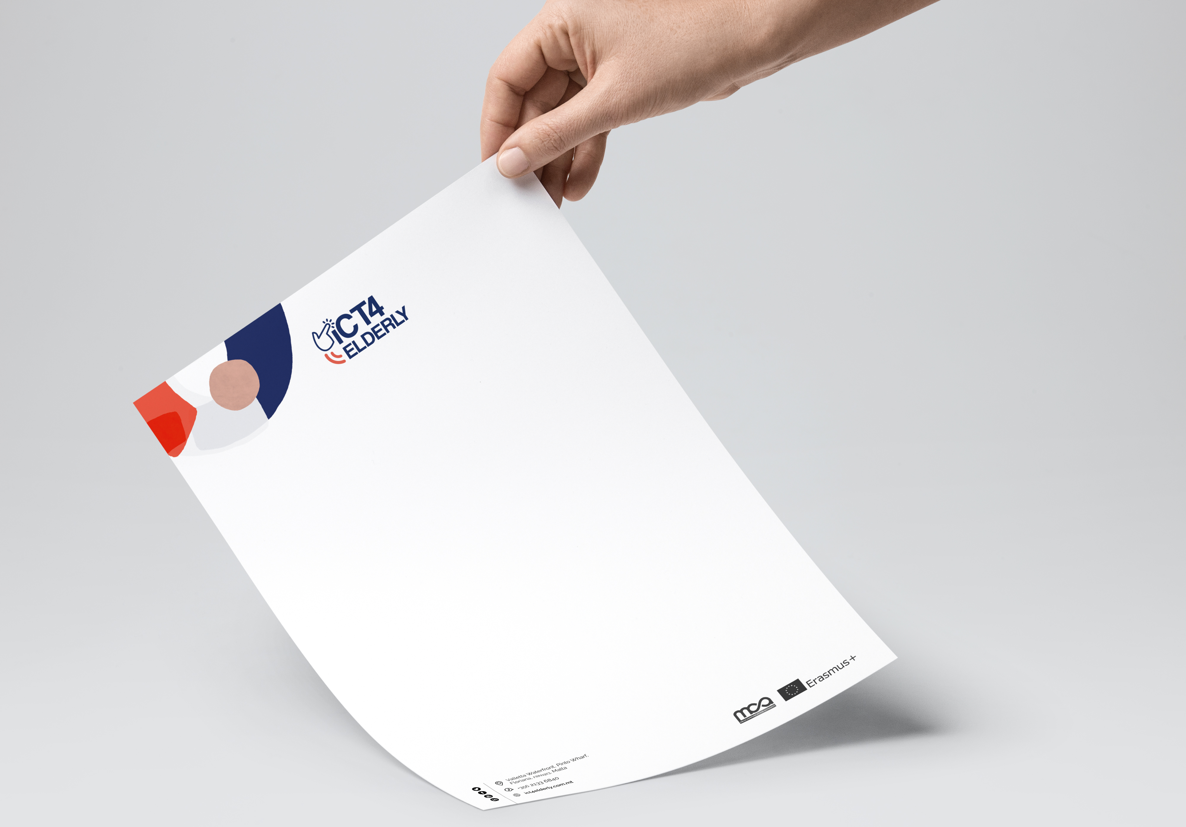 ICT4 Elderly branding
