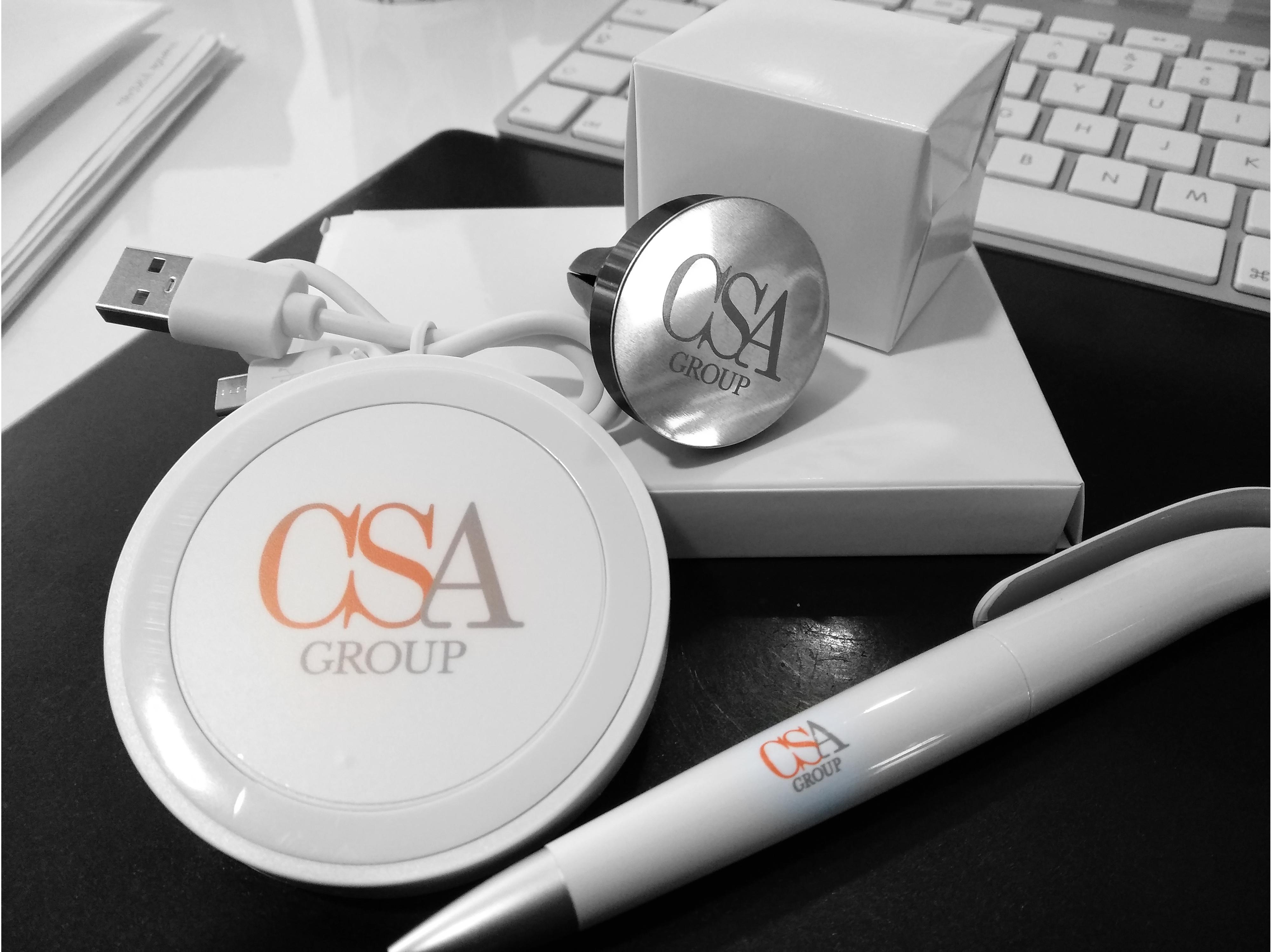 CSA Group branding material