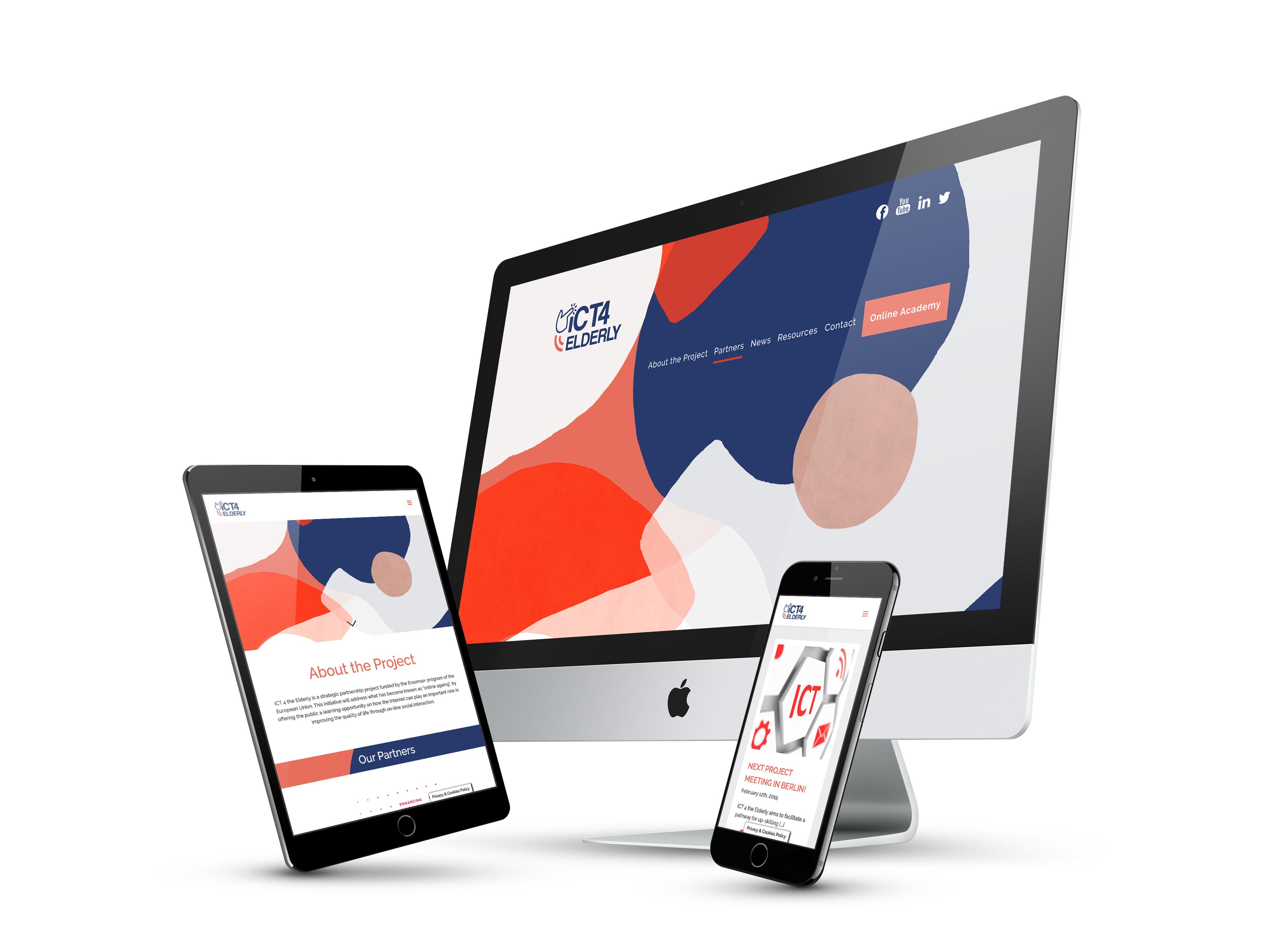 ICT4 Elderly website