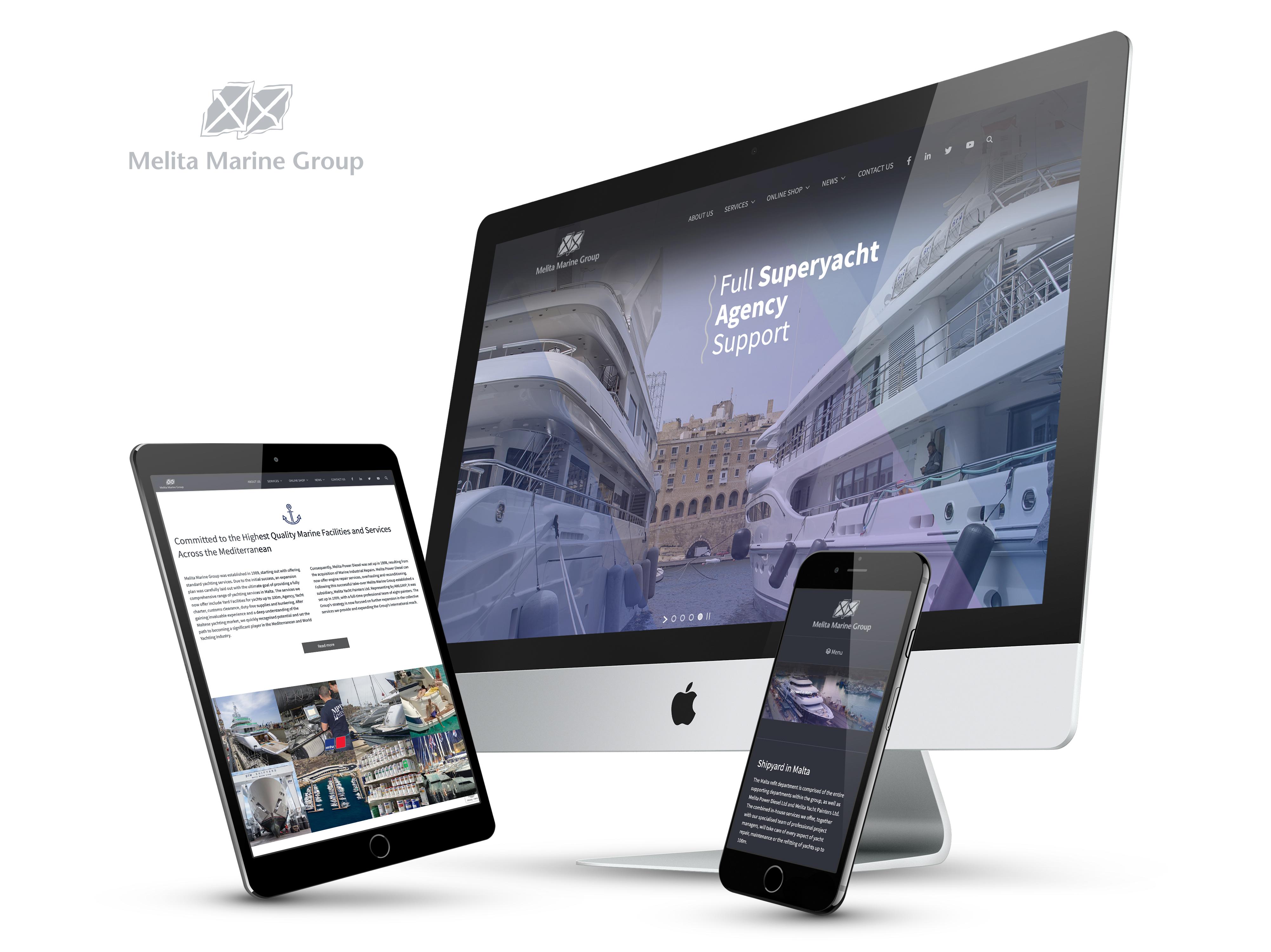 Melita Marine website
