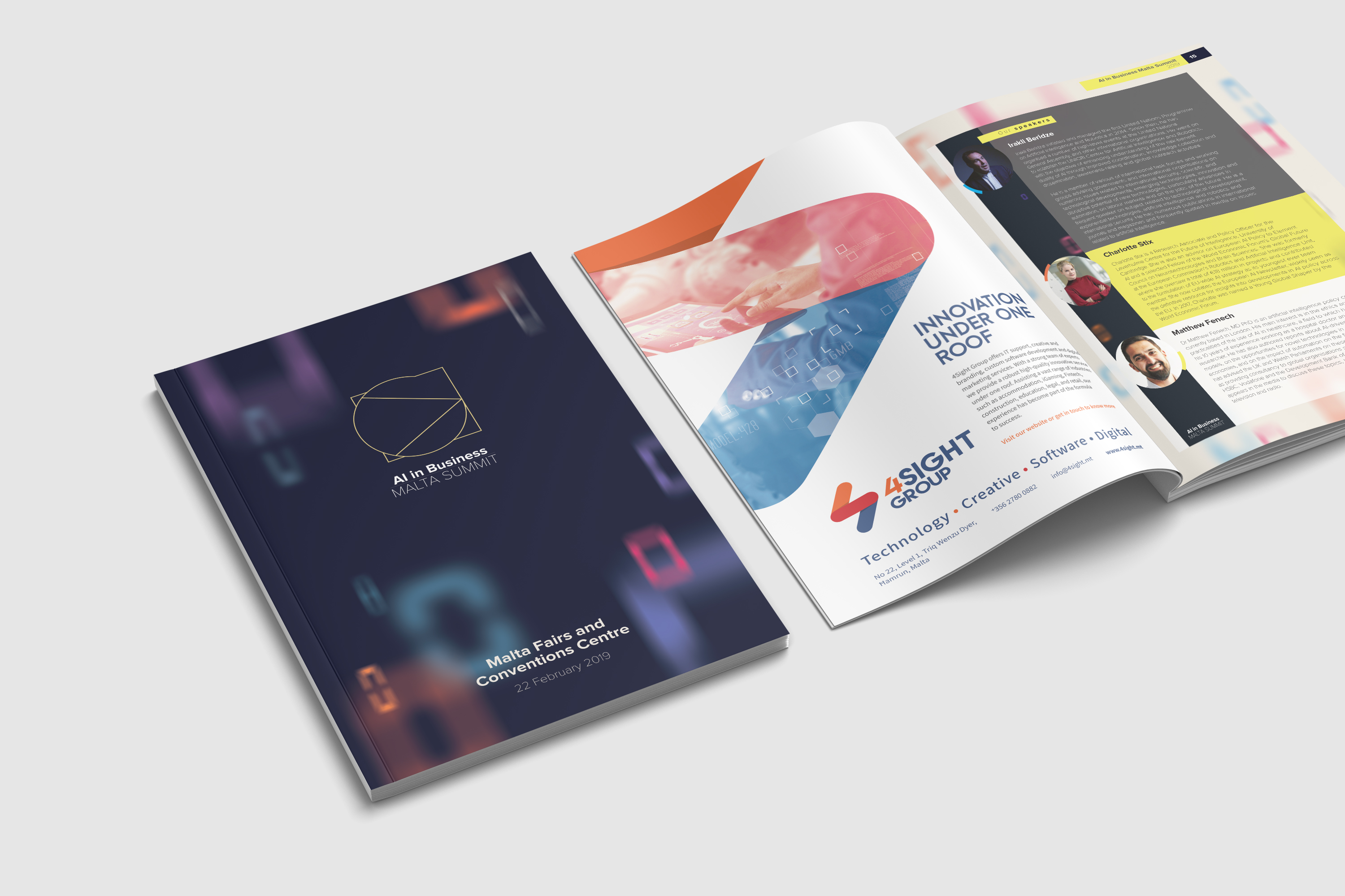 AI Malta Summit brochure