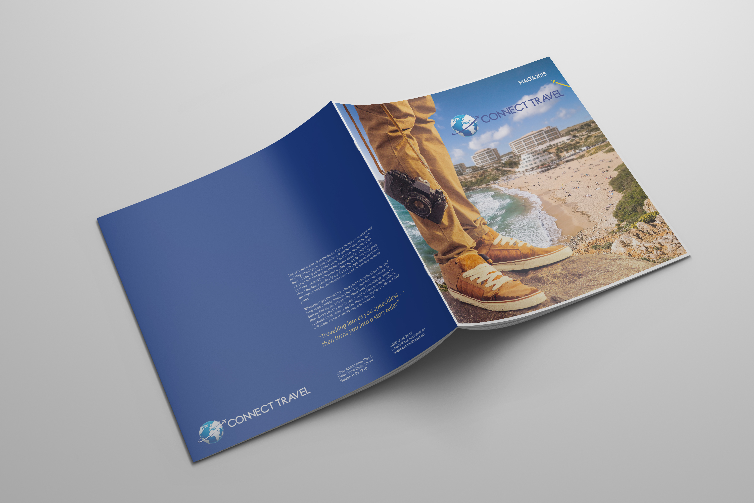 Connect Travel brochure