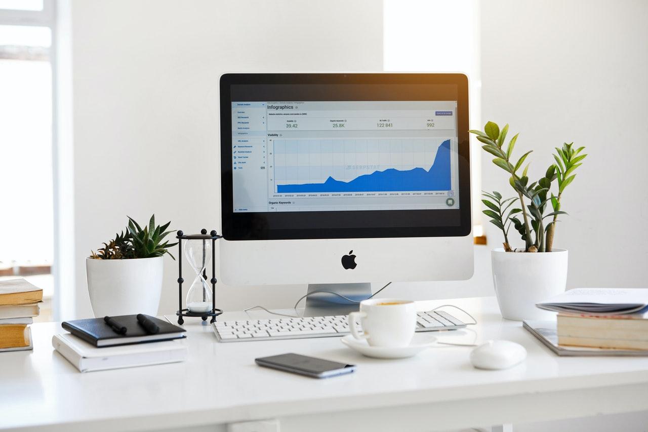 apple screen showing inbound marketing results